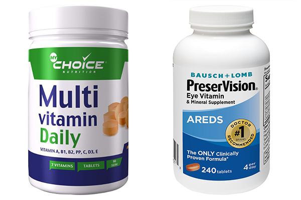 Мультивитамины от катаракты